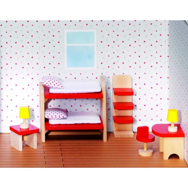 Детская комната для кукол своими руками