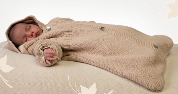Вязание спицами спальный мешок для новорожденного