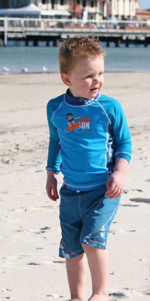 Детская пляжная одежда baby banz
